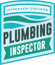 I am trained to Inspect Residential Plumbing.